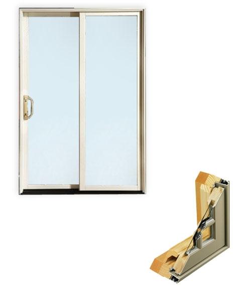 Sliding aluminum clad patio door door and millwork - Commercial aluminum exterior doors ...