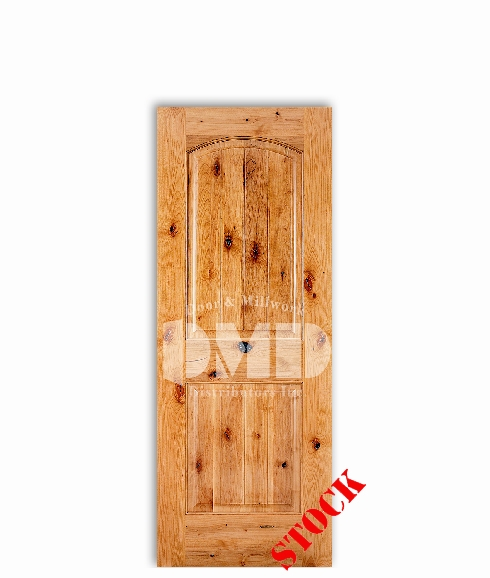 knoty-alder-2-panel-arch interior wood door dmd chicago wholesale distributor