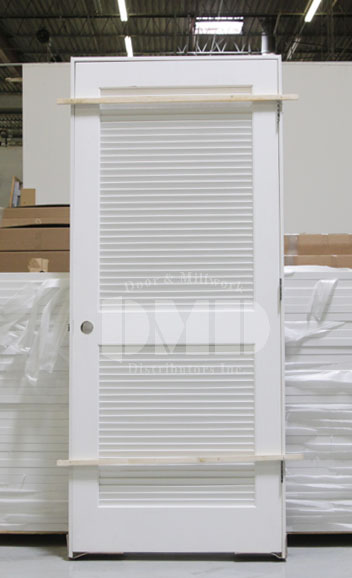 Full Louver Primed Interior Door 6 8 Quot 80 Quot Door And Millwork Distributors Inc Chicago