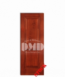 2-panel-square-mahogany-6-8 top interior wood door dmd chicago wholesale distributor