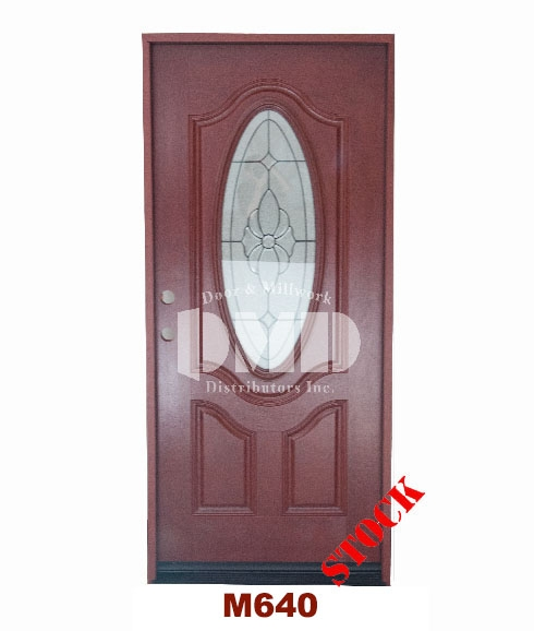 Mahogany exterior fiberglass door 640 - dmd chicago wholesale distibutor