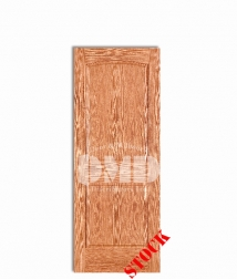 2-panel-arch-oak-6-8 interior wood door dmd chicago wholesale distributor